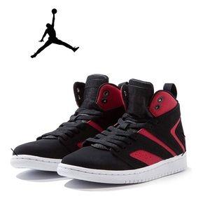 NWOT Jordan Flight Legend Bred Basketball Sneakers